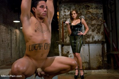 Photo number 2 from Muscle Boy gets Fucked shot for Men In Pain on Kink.com. Featuring Nika Noire and Lobo in hardcore BDSM & Fetish porn.