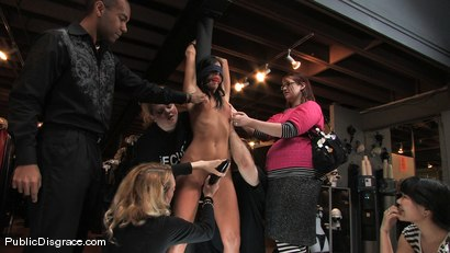 Photo number 1 from Piece of Cake shot for Public Disgrace on Kink.com. Featuring India Summer and James Deen in hardcore BDSM & Fetish porn.