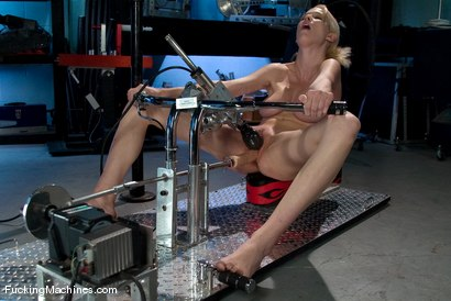 Photo number 11 from AMATEUR GIRL FRIDAYS - A NEW SERIES ON FUCKINGMACHINES shot for Fucking Machines on Kink.com. Featuring Raina in hardcore BDSM & Fetish porn.