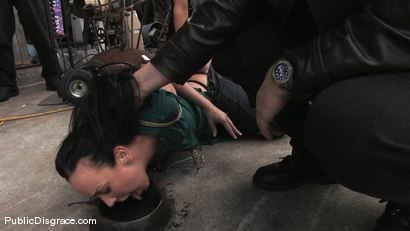 Photo number 2 from Julie Night - Fisted and Fucked in the Junkyard shot for Public Disgrace on Kink.com. Featuring Julie Night and Mark Davis in hardcore BDSM & Fetish porn.