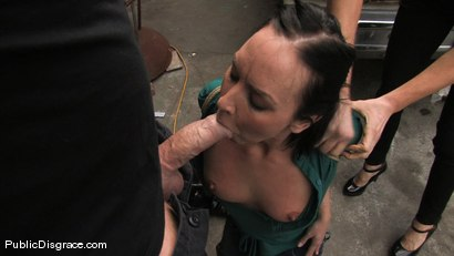 Photo number 3 from Julie Night - Fisted and Fucked in the Junkyard shot for Public Disgrace on Kink.com. Featuring Julie Night and Mark Davis in hardcore BDSM & Fetish porn.