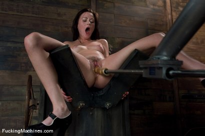Photo number 3 from FuckingMachines ARCHIVE CLASSIC <br>Masturbating addiction - Sindee Jennings shot for Fucking Machines on Kink.com. Featuring Sindee Jennings in hardcore BDSM & Fetish porn.