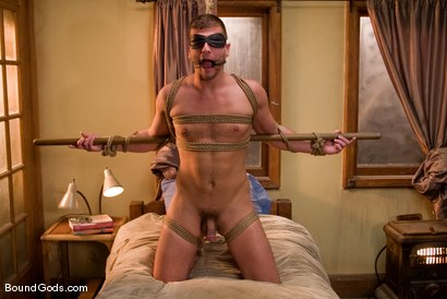 Photo number 12 from A College Boy's Dream shot for Bound Gods on Kink.com. Featuring Derrek Diamond and Frank Castle in hardcore BDSM & Fetish porn.