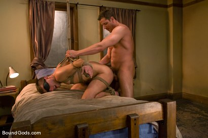 Photo number 13 from A College Boy's Dream shot for Bound Gods on Kink.com. Featuring Derrek Diamond and Frank Castle in hardcore BDSM & Fetish porn.