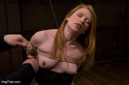 Photo number 1 from Madison... Hot fucking redhead with a desire for painful bondage shot for Hogtied on Kink.com. Featuring Madison Young in hardcore BDSM & Fetish porn.