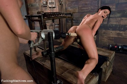 Photo number 13 from The Horny leading the Horny <br> Louisa Lanewood and Alyssa Reece shot for Fucking Machines on Kink.com. Featuring Louisa Lanewood and Alyssa Reece in hardcore BDSM & Fetish porn.