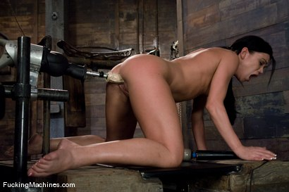 Photo number 14 from The Horny leading the Horny <br> Louisa Lanewood and Alyssa Reece shot for Fucking Machines on Kink.com. Featuring Louisa Lanewood and Alyssa Reece in hardcore BDSM & Fetish porn.
