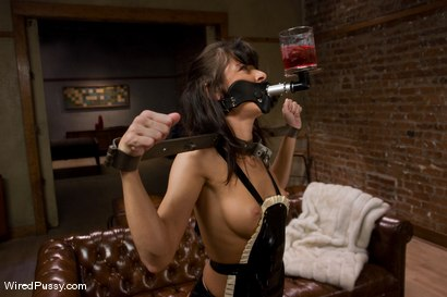 Photo number 2 from Naughty French maid Cecilia Vega is punished and strap-on fucked. shot for Wired Pussy on Kink.com. Featuring Cecilia Vega and Princess Donna Dolore in hardcore BDSM & Fetish porn.