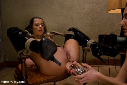 Photo number 7 from Naughty French maid Cecilia Vega is punished and strap-on fucked. shot for Wired Pussy on Kink.com. Featuring Cecilia Vega and Princess Donna Dolore in hardcore BDSM & Fetish porn.