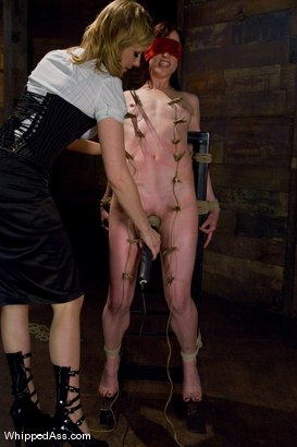 Photo number 4 from Crybaby shot for Whipped Ass on Kink.com. Featuring Nina and Maitresse Madeline Marlowe in hardcore BDSM & Fetish porn.