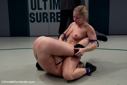 "Photo number 12 from Adrianna ""The Adrianaconda""  Nicole (2-0)<br>vs<br>Dia ""Iron Maiden"" Zerva (2-0) shot for Ultimate Surrender on Kink.com. Featuring Adrianna Nicole and Dia Zerva in hardcore BDSM & Fetish porn."