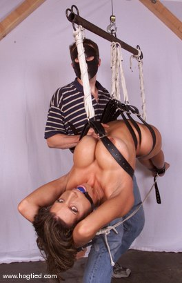 Photo number 2 from Shay Sights shot for Hogtied on Kink.com. Featuring Shay Sights in hardcore BDSM & Fetish porn.