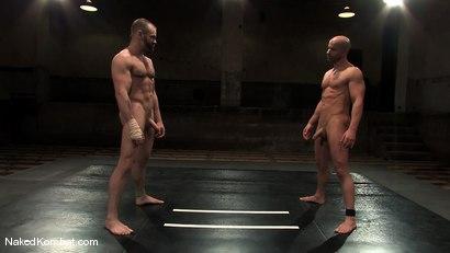Photo number 2 from Brock Armstrong vs Tober Brandt shot for nakedkombat on Kink.com. Featuring Brock Armstrong and Tober Brandt in hardcore BDSM & Fetish porn.