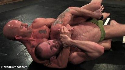 Photo number 3 from Brock Armstrong vs Tober Brandt shot for Naked Kombat on Kink.com. Featuring Brock Armstrong and Tober Brandt in hardcore BDSM & Fetish porn.