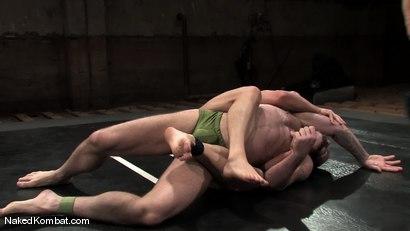 Photo number 1 from Brock Armstrong vs Tober Brandt shot for Naked Kombat on Kink.com. Featuring Brock Armstrong and Tober Brandt in hardcore BDSM & Fetish porn.
