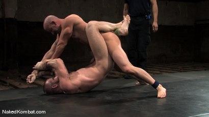 Photo number 9 from Brock Armstrong vs Tober Brandt shot for Naked Kombat on Kink.com. Featuring Brock Armstrong and Tober Brandt in hardcore BDSM & Fetish porn.