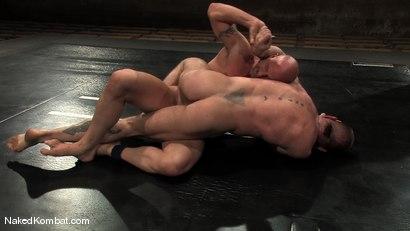 Photo number 10 from Brock Armstrong vs Tober Brandt shot for Naked Kombat on Kink.com. Featuring Brock Armstrong and Tober Brandt in hardcore BDSM & Fetish porn.