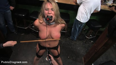 Photo number 10 from The business suit and the biker bar shot for Public Disgrace on Kink.com. Featuring Harmony and Mark Davis in hardcore BDSM & Fetish porn.