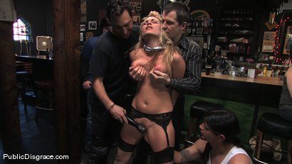 Photo number 6 from The business suit and the biker bar shot for Public Disgrace on Kink.com. Featuring Harmony and Mark Davis in hardcore BDSM & Fetish porn.
