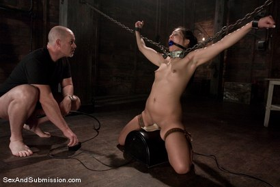 Photo number 9 from Jade Indica shot for Sex And Submission on Kink.com. Featuring Mark Davis and Miss Jade Indica in hardcore BDSM & Fetish porn.