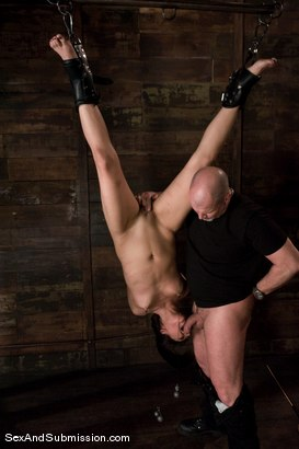 Photo number 5 from Jade Indica shot for Sex And Submission on Kink.com. Featuring Mark Davis and Miss Jade Indica in hardcore BDSM & Fetish porn.