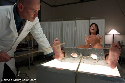 Photo number 7 from Sexual Experiments shot for Sex And Submission on Kink.com. Featuring Cecilia Vega and Mark Davis in hardcore BDSM & Fetish porn.
