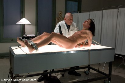 Photo number 8 from Sexual Experiments shot for Sex And Submission on Kink.com. Featuring Cecilia Vega and Mark Davis in hardcore BDSM & Fetish porn.