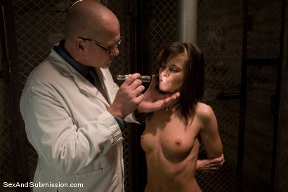 Photo number 2 from Sexual Experiments shot for Sex And Submission on Kink.com. Featuring Cecilia Vega and Mark Davis in hardcore BDSM & Fetish porn.