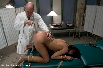 Photo number 9 from Sexual Experiments shot for Sex And Submission on Kink.com. Featuring Cecilia Vega and Mark Davis in hardcore BDSM & Fetish porn.