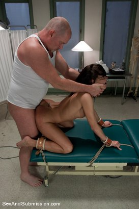 Photo number 11 from Sexual Experiments shot for Sex And Submission on Kink.com. Featuring Cecilia Vega and Mark Davis in hardcore BDSM & Fetish porn.