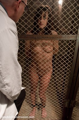 Photo number 1 from Sexual Experiments shot for Sex And Submission on Kink.com. Featuring Cecilia Vega and Mark Davis in hardcore BDSM & Fetish porn.