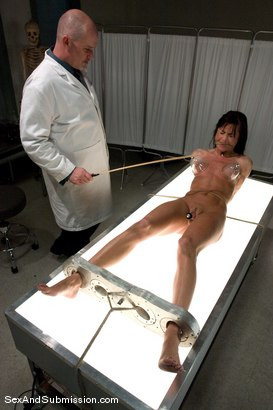 Photo number 4 from Sexual Experiments shot for Sex And Submission on Kink.com. Featuring Cecilia Vega and Mark Davis in hardcore BDSM & Fetish porn.