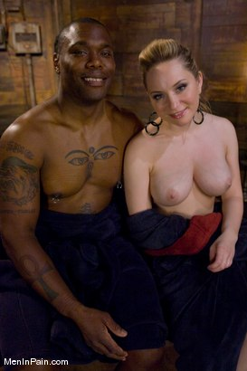 Photo number 15 from Miss Starr Dominates Big Boy's Black Ass shot for Men In Pain on Kink.com. Featuring Jack Hammer and Aiden Starr in hardcore BDSM & Fetish porn.