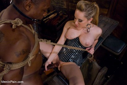 Photo number 13 from Miss Starr Dominates Big Boy's Black Ass shot for Men In Pain on Kink.com. Featuring Jack Hammer and Aiden Starr in hardcore BDSM & Fetish porn.