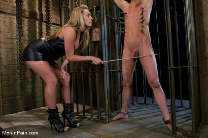 Photo number 2 from Bitch-boy Hunting shot for Men In Pain on Kink.com. Featuring Dean Strong and Harmony in hardcore BDSM & Fetish porn.