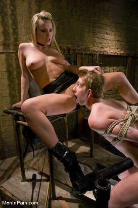 Photo number 5 from Bitch-boy Hunting shot for Men In Pain on Kink.com. Featuring Dean Strong and Harmony in hardcore BDSM & Fetish porn.