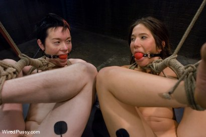 Photo number 8 from COLLECTION PART 2: Jiz Lee shot for Wired Pussy on Kink.com. Featuring Syd Blakovich, Jiz Lee, Vai and Princess Donna Dolore in hardcore BDSM & Fetish porn.