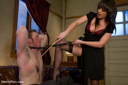 Photo number 4 from Penny and the Giant shot for meninpain on Kink.com. Featuring Penny Flame and Alrik Angel in hardcore BDSM & Fetish porn.