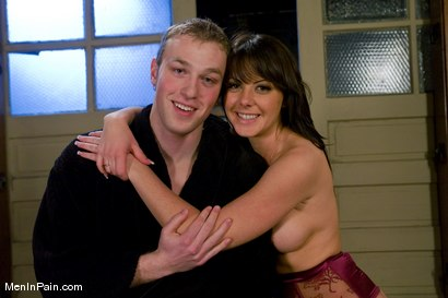 Photo number 15 from Penny and the Giant shot for meninpain on Kink.com. Featuring Penny Flame and Alrik Angel in hardcore BDSM & Fetish porn.