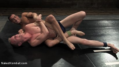 Photo number 10 from Unfinished Matches - Bonus Update shot for Naked Kombat on Kink.com. Featuring Sean Preston, Spencer Reed, Dak Ramsey, Mitch Colby, Kyle Sparks, Rocco Giovanni, Jason White and Jimmie Slater in hardcore BDSM & Fetish porn.