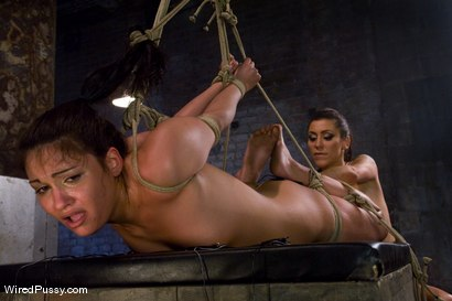 Photo number 12 from White Panties shot for Wired Pussy on Kink.com. Featuring Miss Jade Indica and Princess Donna Dolore in hardcore BDSM & Fetish porn.