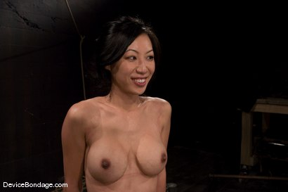 Photo number 15 from Tia Ling <be><br>  A take down. shot for Device Bondage on Kink.com. Featuring Tia Ling in hardcore BDSM & Fetish porn.