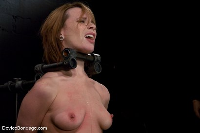 Photo number 12 from Dana DeArmond  Immobile, unable to stop  the hard cock from face fucking her skull shot for devicebondage on Kink.com. Featuring Maestro and Dana DeArmond in hardcore BDSM & Fetish porn.