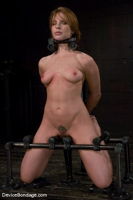 Photo number 10 from Dana DeArmond  Immobile, unable to stop  the hard cock from face fucking her skull shot for devicebondage on Kink.com. Featuring Maestro and Dana DeArmond in hardcore BDSM & Fetish porn.