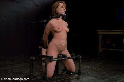 Photo number 11 from Dana DeArmond<br>Immobile, unable to stop <br>the hard cock from face fucking her skull shot for Device Bondage on Kink.com. Featuring Maestro and Dana DeArmond in hardcore BDSM & Fetish porn.