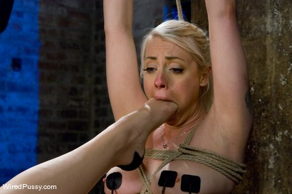 Photo number 7 from Blonde vs. Redhead shot for Wired Pussy on Kink.com. Featuring Sabrina Fox and Lorelei Lee in hardcore BDSM & Fetish porn.