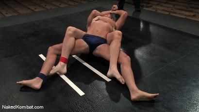 Photo number 2 from John Stone vs Spencer Reed<br />The Oil Match shot for Naked Kombat on Kink.com. Featuring John Stone and Spencer Reed in hardcore BDSM & Fetish porn.