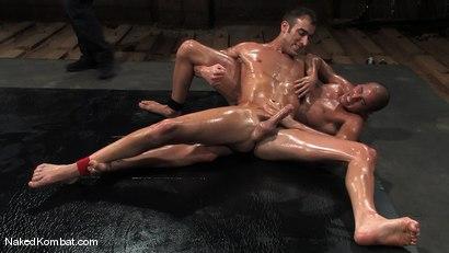Photo number 8 from John Stone vs Spencer Reed<br />The Oil Match shot for Naked Kombat on Kink.com. Featuring John Stone and Spencer Reed in hardcore BDSM & Fetish porn.