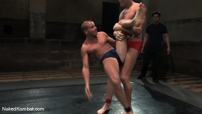 Photo number 1 from John Stone vs Spencer Reed<br />The Oil Match shot for Naked Kombat on Kink.com. Featuring John Stone and Spencer Reed in hardcore BDSM & Fetish porn.
