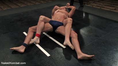 Photo number 2 from John Stone vs Spencer Reed<br />The Oil Match shot for Naked Kombat on Kink.com. Featuring John Stone and Spencer Reed in hardcore BDSM & Fetish porn.